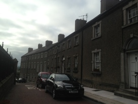 Armagh - loved the curves on the streets